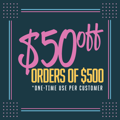 USE CODE: 50OFF