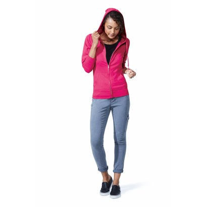 lat 3763 ladies' zip french terry hoodie other image