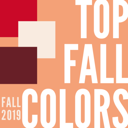 Top Fall Colors 2019