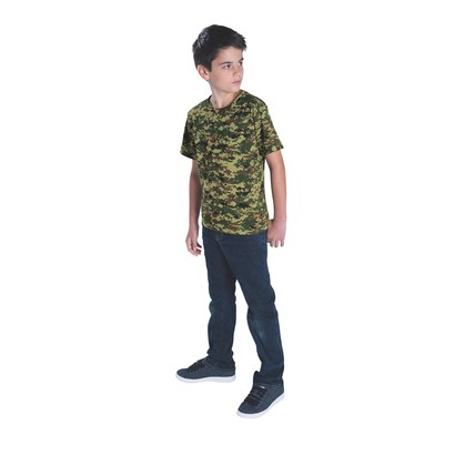 code five 2206 youth camo t-shirt other image