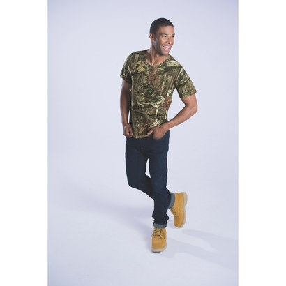 code five 3970 men's mossy oak camo t-shirt product image