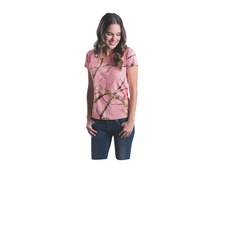 Code Five 3685 Ladies' Realtree Camo T-Shirt