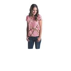Code Five 3685 Ladies' Realtree Camo T-Shirt